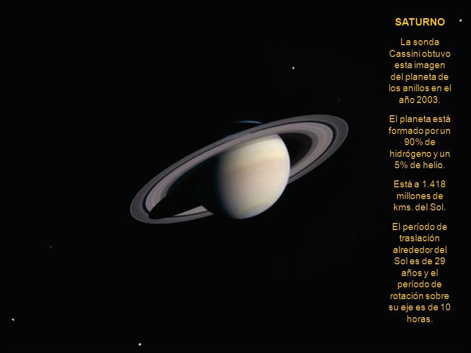 JÚPITER Júpiter es el mayor planeta del Sistema Solar y tiene 16 satélites confirmados. Es 1.400 veces más voluminoso que la Tierra, pero su masa es s
