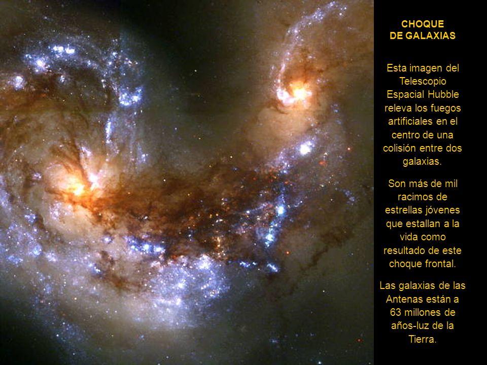 EL FONDO DEL UNIVERSO El Telescopio Espacial Hubble muestra el retrato más profundo del universo visible jamás obtenido por la Humanidad. Este ha reci