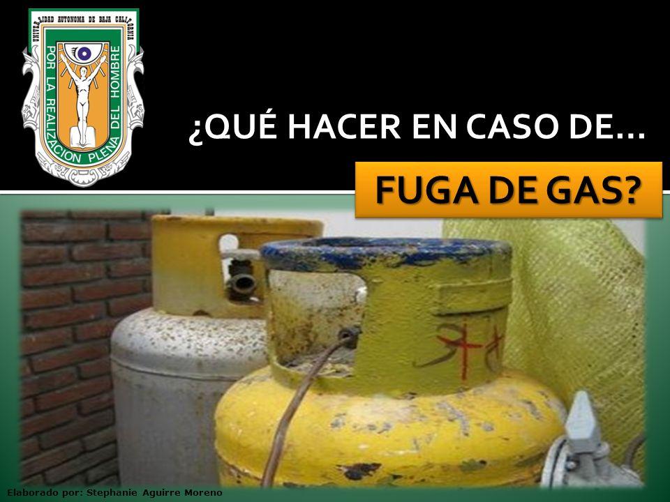 Asegúrese de que su instalación de gas cuente con un regulador de presión y válvula de paso que permita su cierre rápido en caso de fuga.