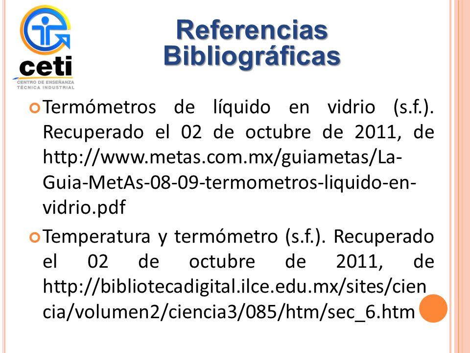 Termómetros de líquido en vidrio (s.f.).