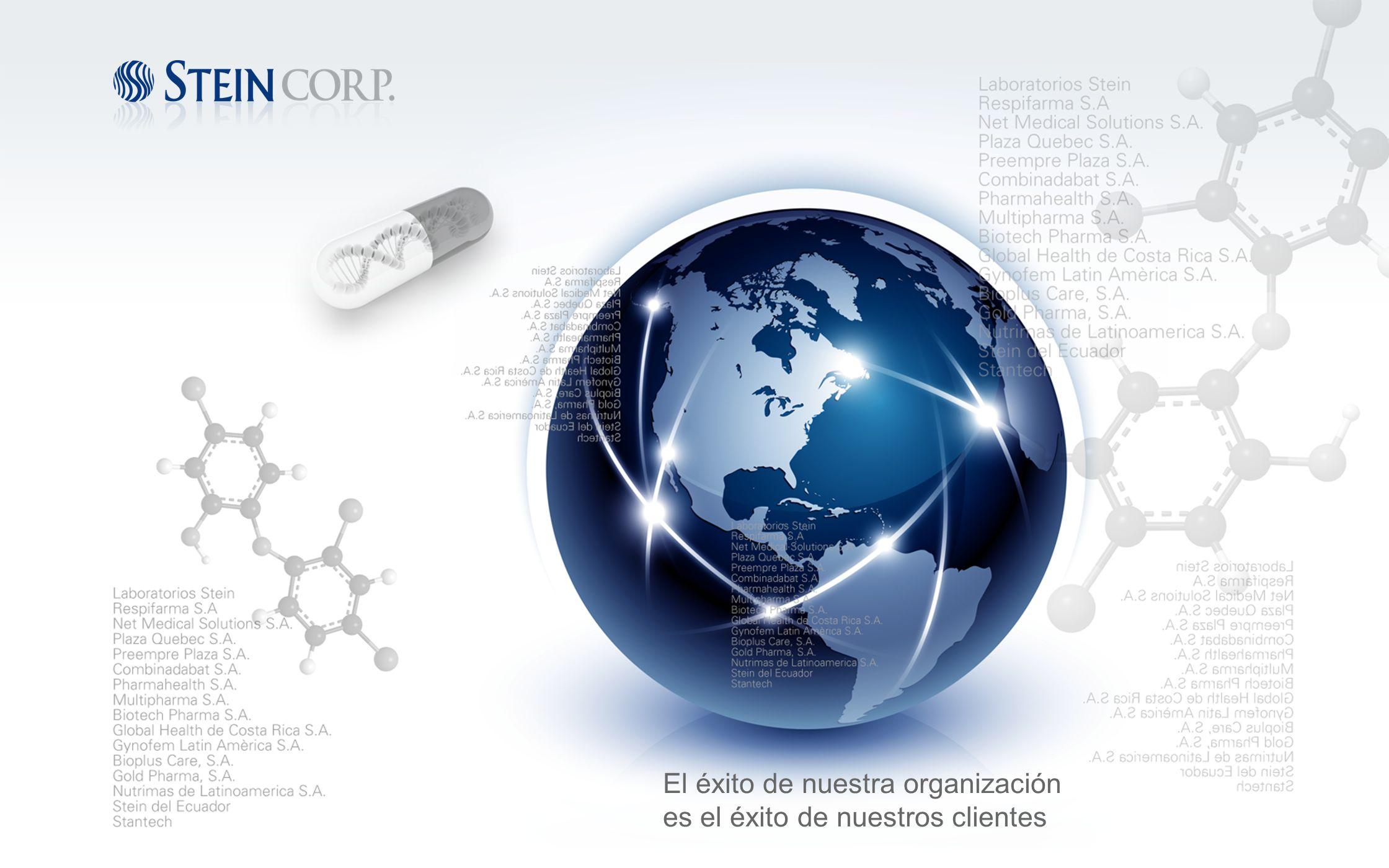El éxito de nuestra organización es el éxito de nuestros clientes