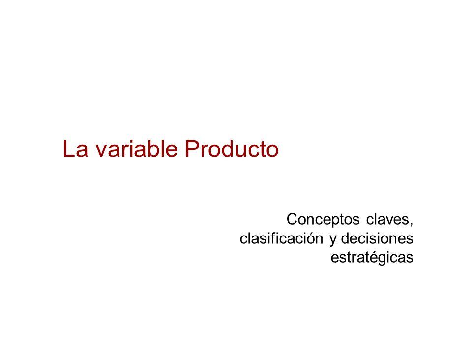 Producto: Decisiones estratégicas Marca: Marcas nuevas Usar marcas diversas, en categorías diversas.