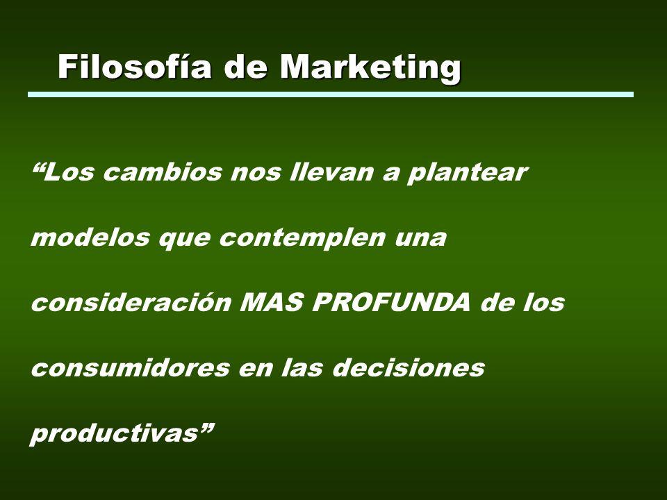 Los canales de comercialización en los mercados agroalimentarios son LARGOS, entonces...