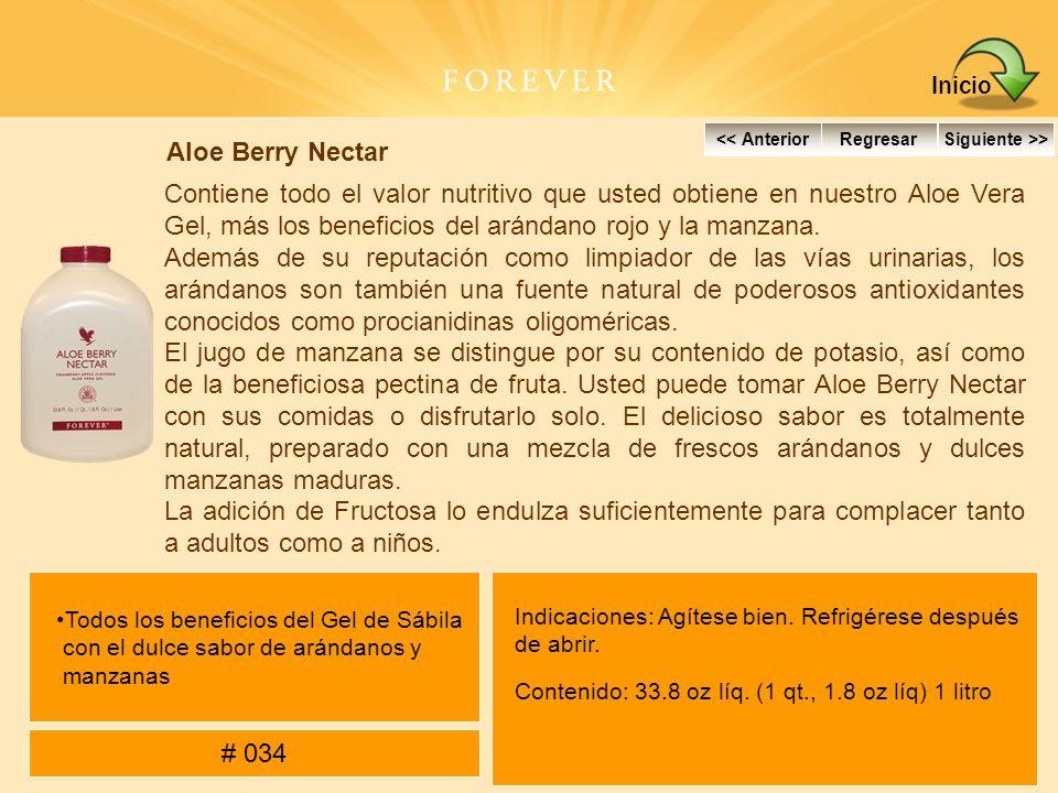 Aloe Berry Nectar Contiene todo el valor nutritivo que usted obtiene en nuestro Aloe Vera Gel, más los beneficios del arándano rojo y la manzana. Adem