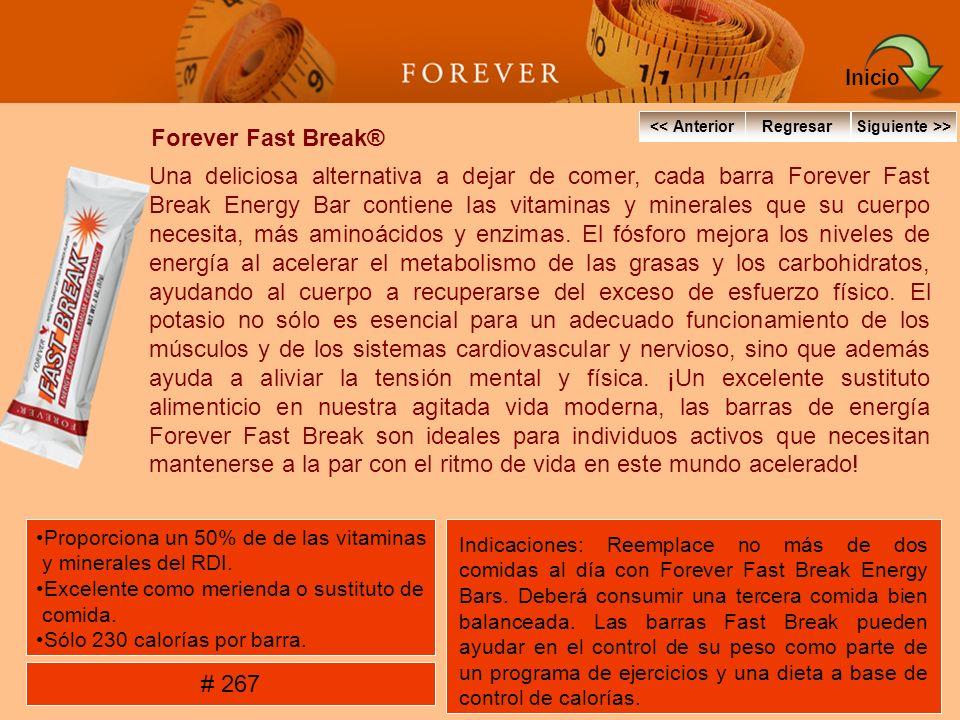 Forever Fast Break® Una deliciosa alternativa a dejar de comer, cada barra Forever Fast Break Energy Bar contiene las vitaminas y minerales que su cue