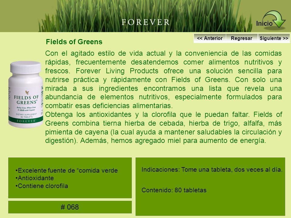 Fields of Greens Con el agitado estilo de vida actual y la conveniencia de las comidas rápidas, frecuentemente desatendemos comer alimentos nutritivos