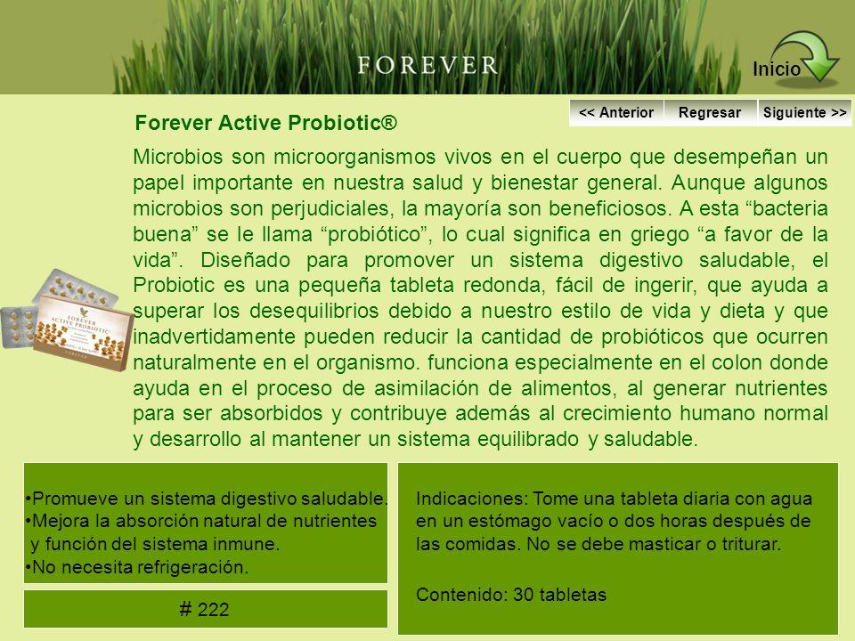Forever Active Probiotic® Microbios son microorganismos vivos en el cuerpo que desempeñan un papel importante en nuestra salud y bienestar general. Au
