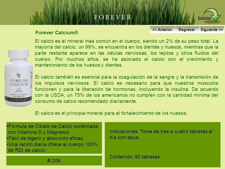 Forever Calcium® El calcio es el mineral más común en el cuerpo, siendo un 2% de su peso total. La mayoría del calcio, un 99%, se encuentra en los die