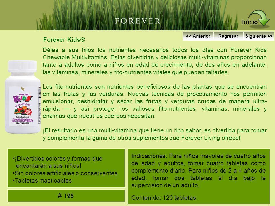 Forever Kids® Déles a sus hijos los nutrientes necesarios todos los días con Forever Kids Chewable Multivitamins. Estas divertidas y deliciosas multi-