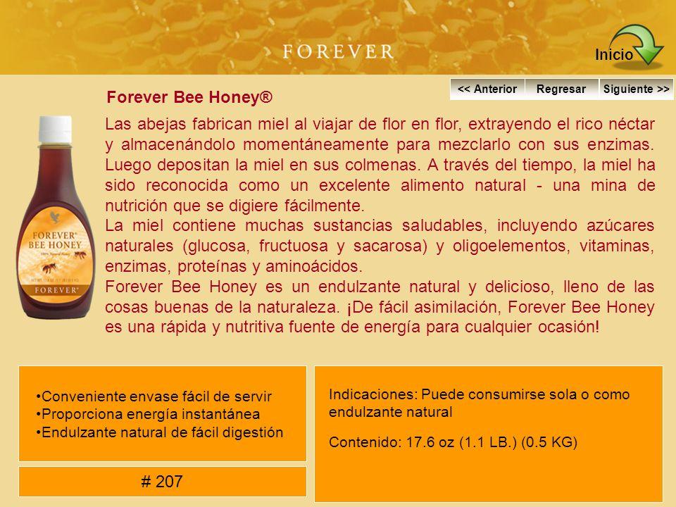 Forever Bee Honey® Las abejas fabrican miel al viajar de flor en flor, extrayendo el rico néctar y almacenándolo momentáneamente para mezclarlo con su