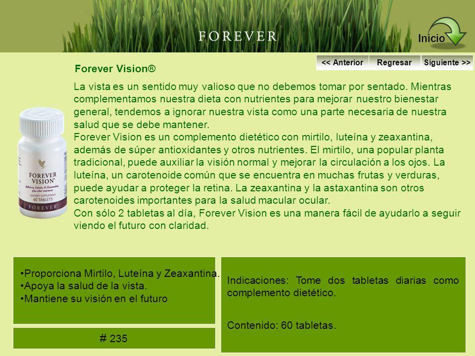 Forever Vision® La vista es un sentido muy valioso que no debemos tomar por sentado. Mientras complementamos nuestra dieta con nutrientes para mejorar