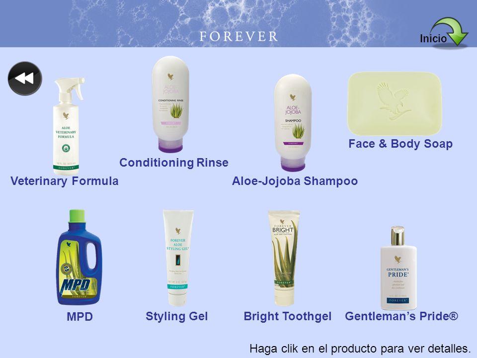 Haga clik en el producto para ver detalles. Veterinary Formula Conditioning Rinse Aloe-Jojoba Shampoo Face & Body Soap MPD Styling GelBright ToothgelG