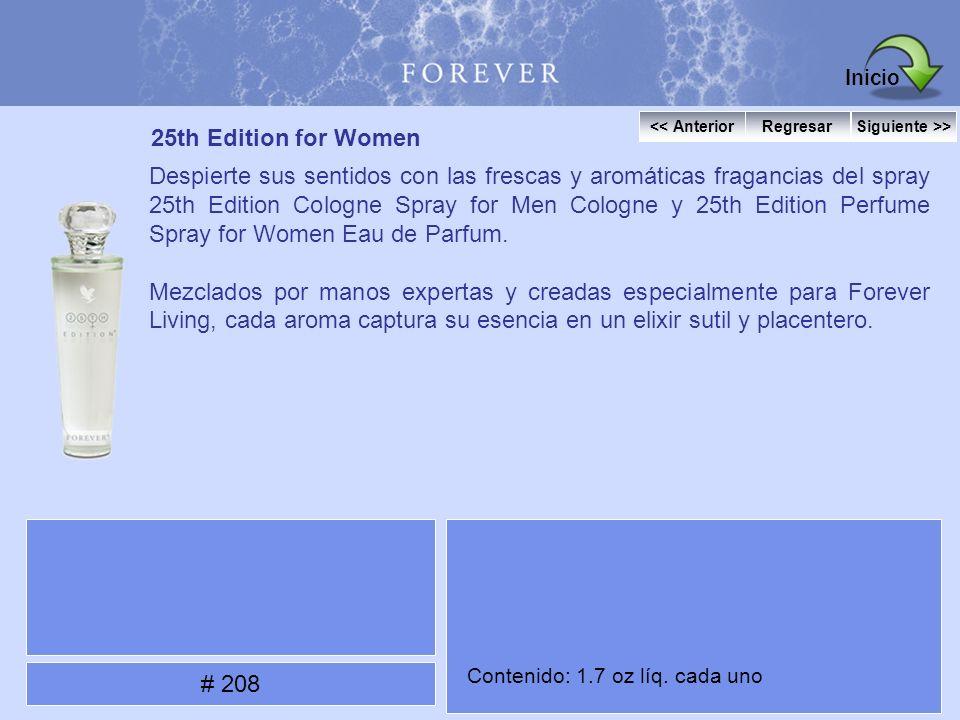 25th Edition for Women Despierte sus sentidos con las frescas y aromáticas fragancias del spray 25th Edition Cologne Spray for Men Cologne y 25th Edit