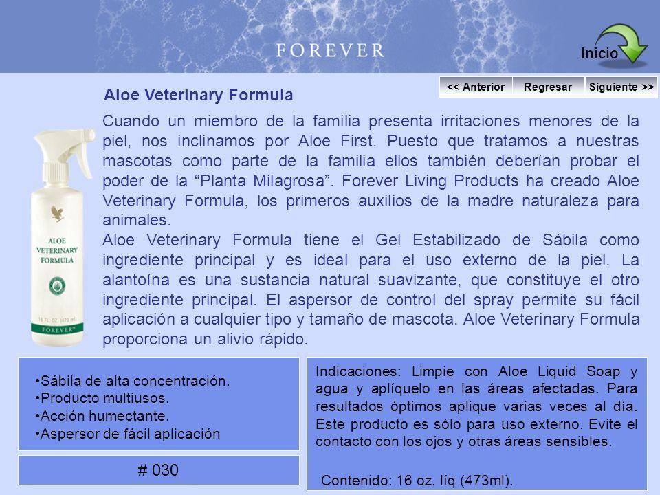 Aloe Veterinary Formula Cuando un miembro de la familia presenta irritaciones menores de la piel, nos inclinamos por Aloe First. Puesto que tratamos a