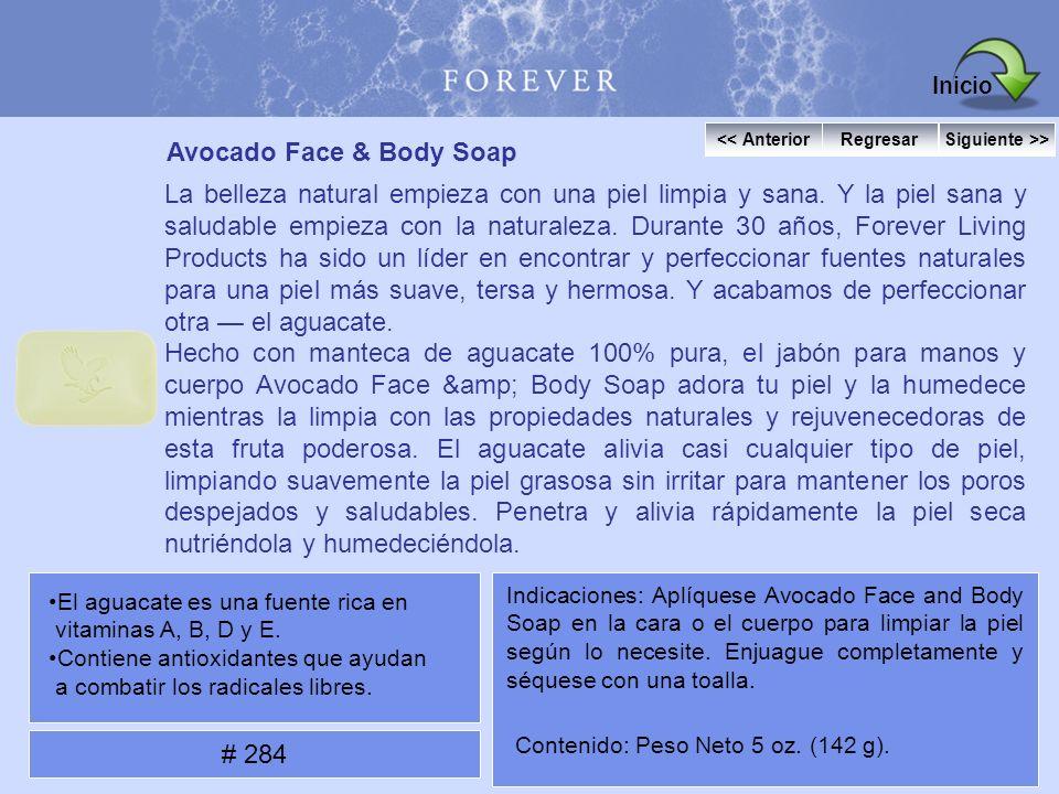Avocado Face & Body Soap La belleza natural empieza con una piel limpia y sana. Y la piel sana y saludable empieza con la naturaleza. Durante 30 años,