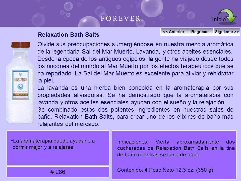 Relaxation Bath Salts Olvide sus preocupaciones sumergiéndose en nuestra mezcla aromática de la legendaria Sal del Mar Muerto, Lavanda, y otros aceite