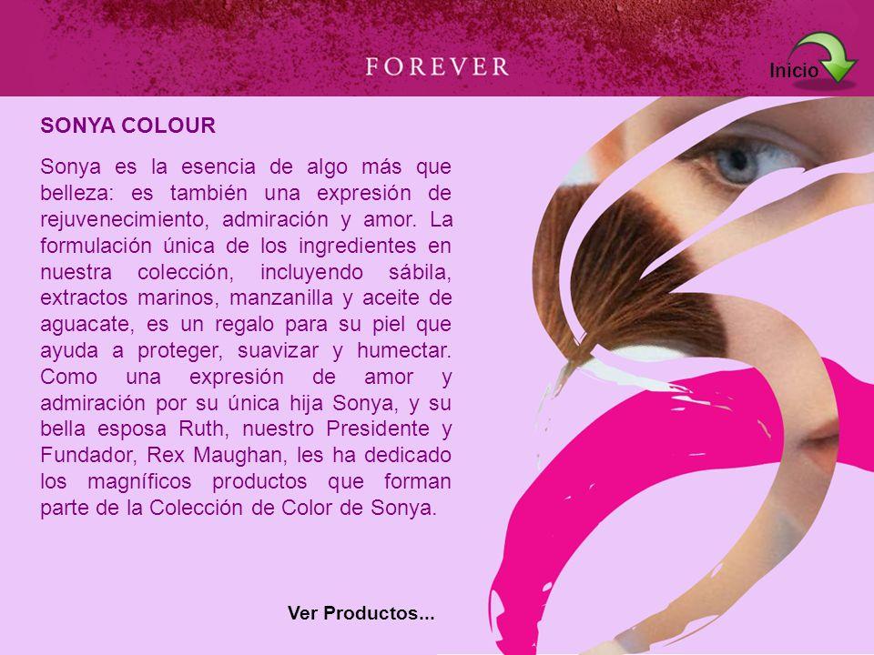 Sonya es la esencia de algo más que belleza: es también una expresión de rejuvenecimiento, admiración y amor. La formulación única de los ingredientes