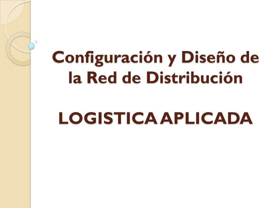 Configuración y Diseño de la Red de Distribución LOGISTICA APLICADA