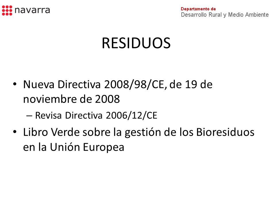Directiva 2008/98/CE Jerarquía de los residuos – Prevención – Preparación para reutilización » Comprobación, limpieza, o reparación – Reciclado – Valorización, incl.