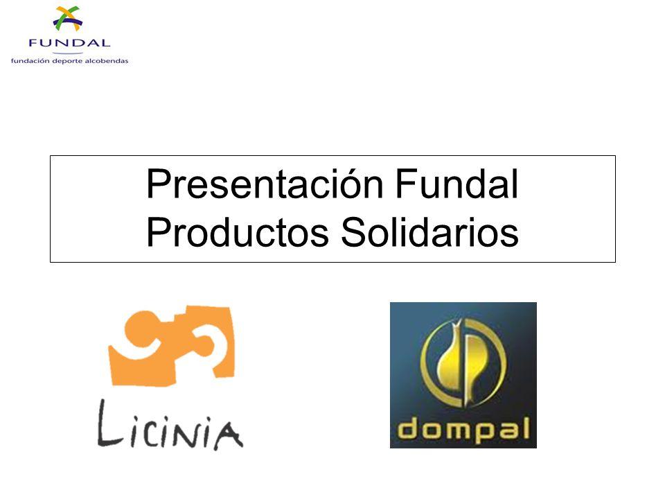 Presentación Fundal Productos Solidarios