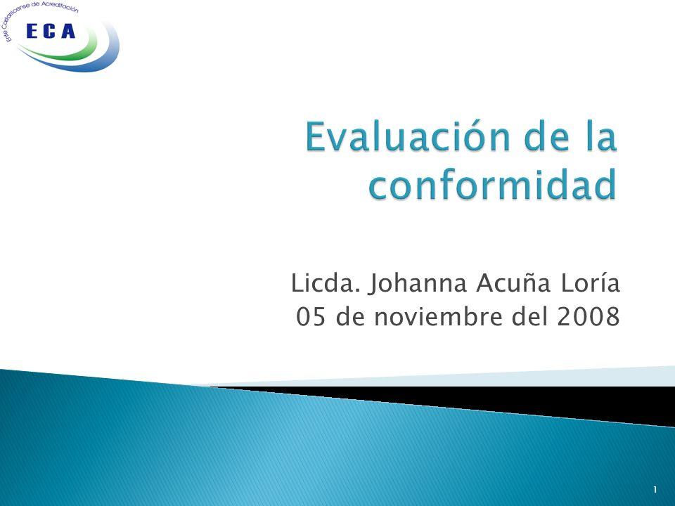Licda. Johanna Acuña Loría 05 de noviembre del 2008 1
