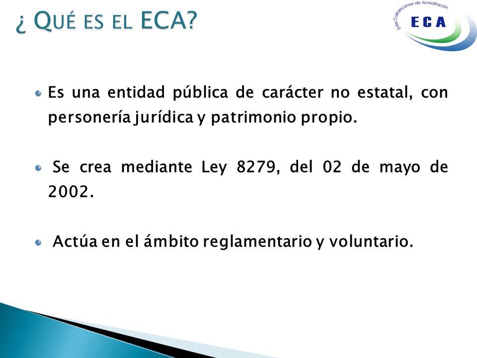 Es una entidad pública de carácter no estatal, con personería jurídica y patrimonio propio. Se crea mediante Ley 8279, del 02 de mayo de 2002. Actúa e