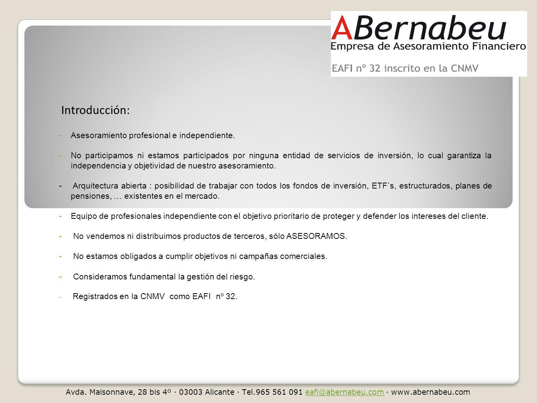 Introducción: -Asesoramiento profesional e independiente.