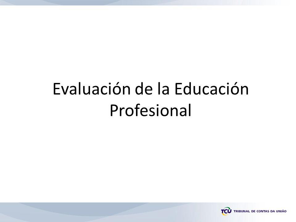 Evaluación de la Educación Profesional