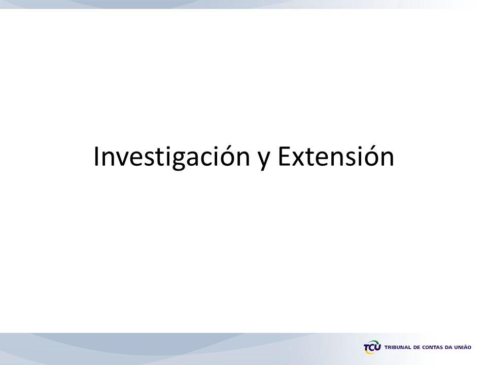 Investigación y Extensión