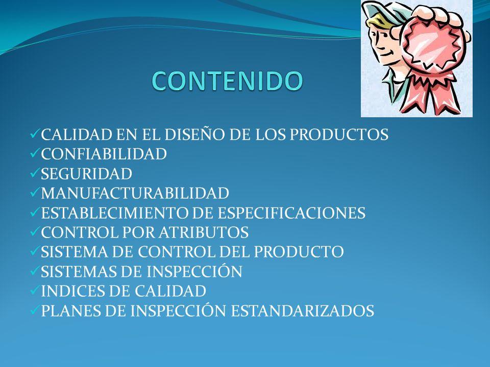 Calidad de diseño.Aquí se determina el que producto y/o servicio producir y como hacerlo.