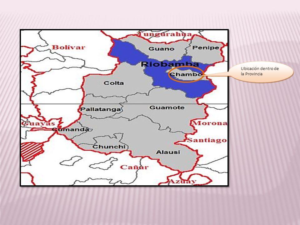 Ubicación dentro de la Provincia
