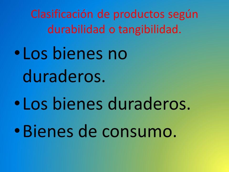 Clasificación internacional de productos y servicios.
