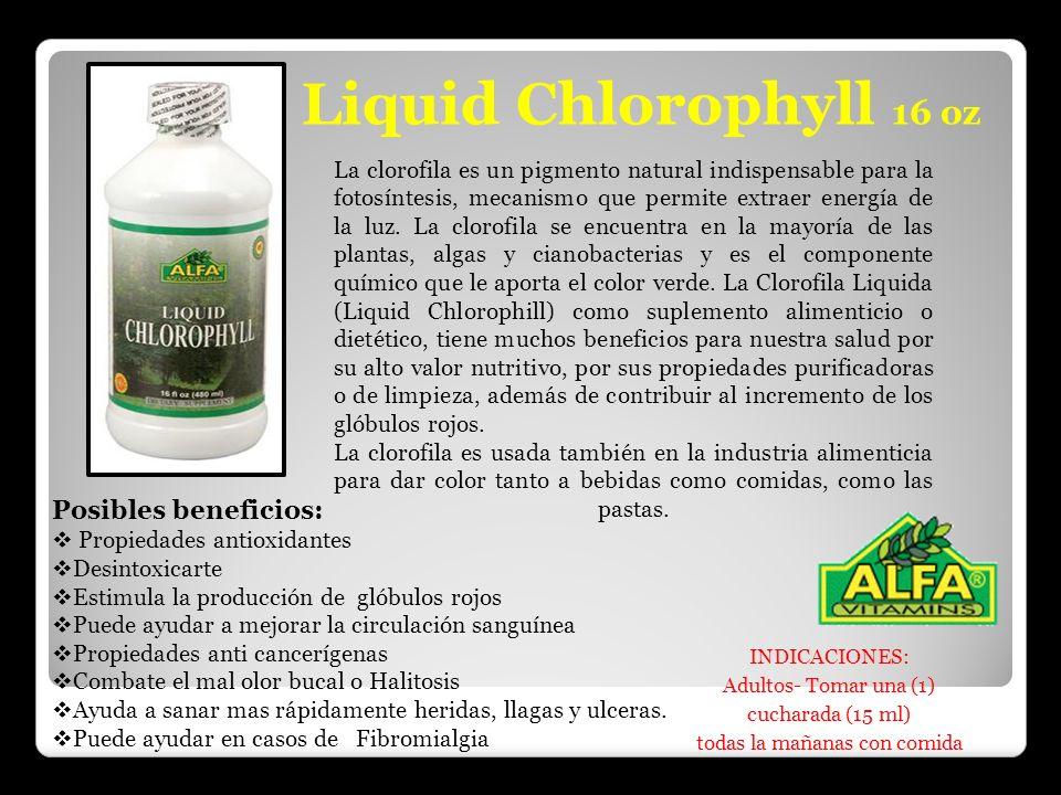 La clorofila es un pigmento natural indispensable para la fotosíntesis, mecanismo que permite extraer energía de la luz. La clorofila se encuentra en