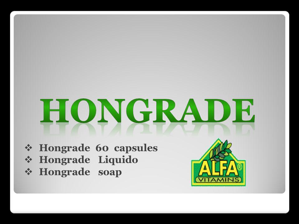 Hongrade 60 capsules Hongrade Liquido Hongrade soap