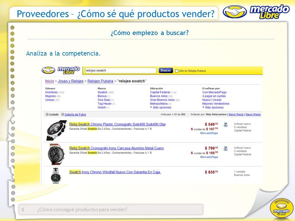 ¿Cómo conseguir productos para vender.Proveedores – ¿Cómo sé qué productos vender.