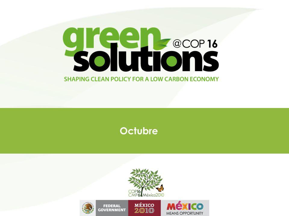 Green Solutions@COP16 Actividades con el sector empresarial en el marco de la COP16