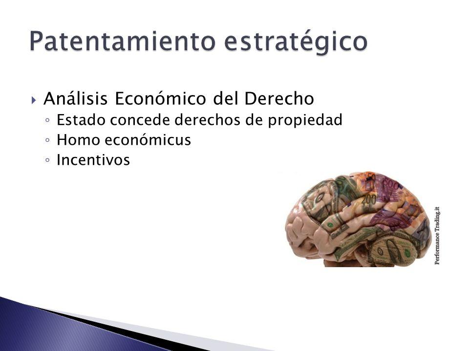 Análisis Económico del Derecho Estado concede derechos de propiedad Homo económicus Incentivos