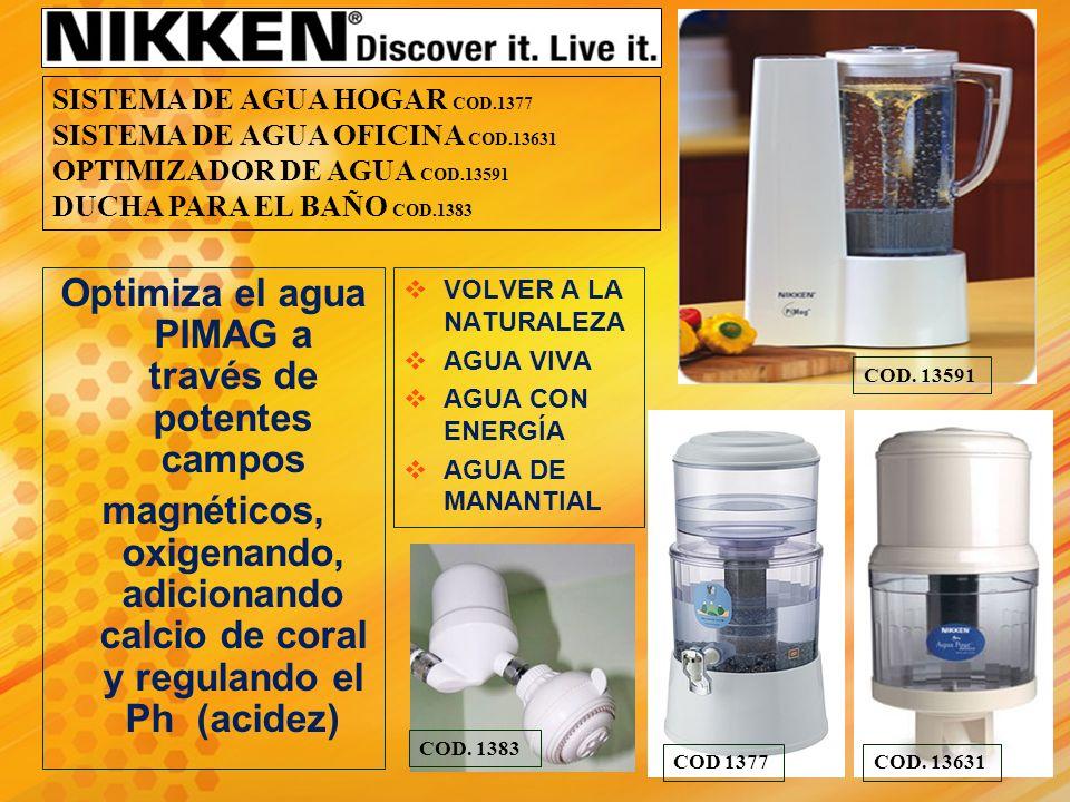 No olvide la alternativa inteligente al agua embotellada, la botella deportiva PiMag de Nikken.