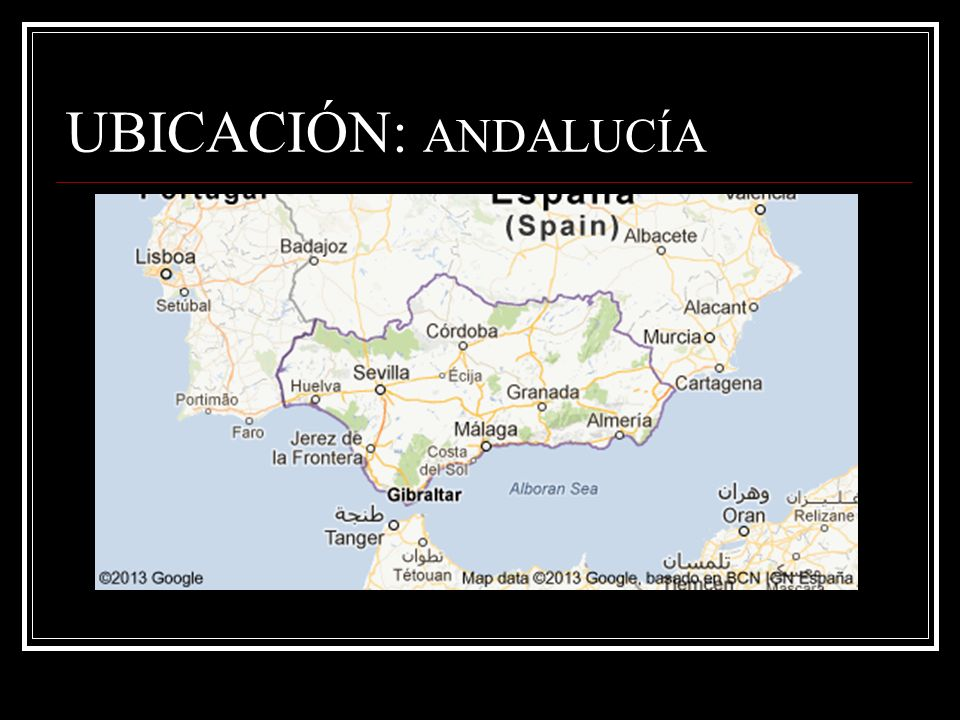 UBICACIÓN: ESPAÑA