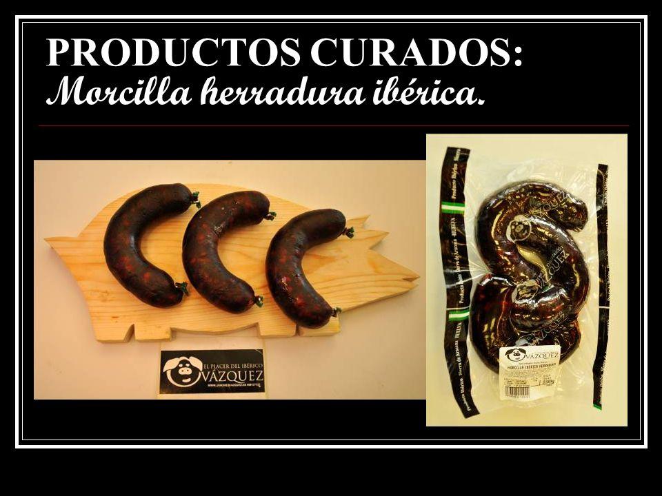 PRODUCTOS CURADOS: Chorizo jabuguito ibérico picante.