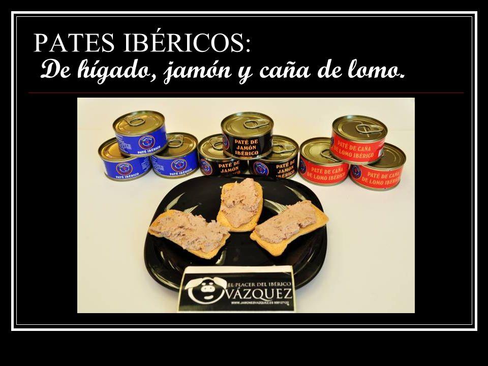 PRODUCTOS CURADOS: Morcilla herradura ibérica.