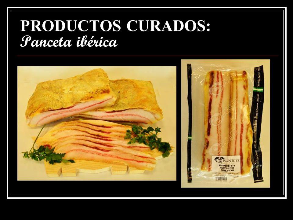PRODUCTOS CURADOS: Papada ibérica salada.