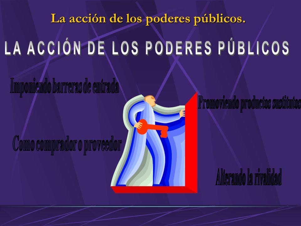 La acción de los poderes públicos.