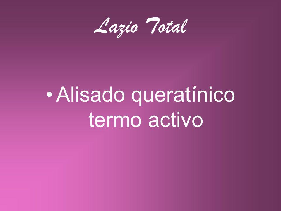 Lazio Total Alisado queratínico termo activo