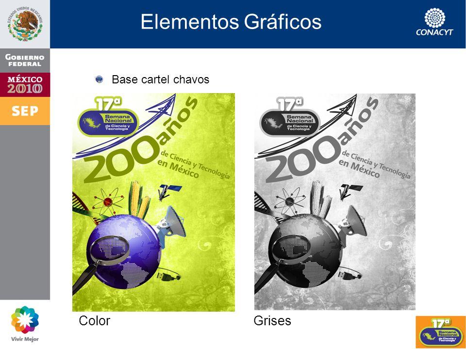 Elementos Gráficos Logo Semana Color Grises Negro