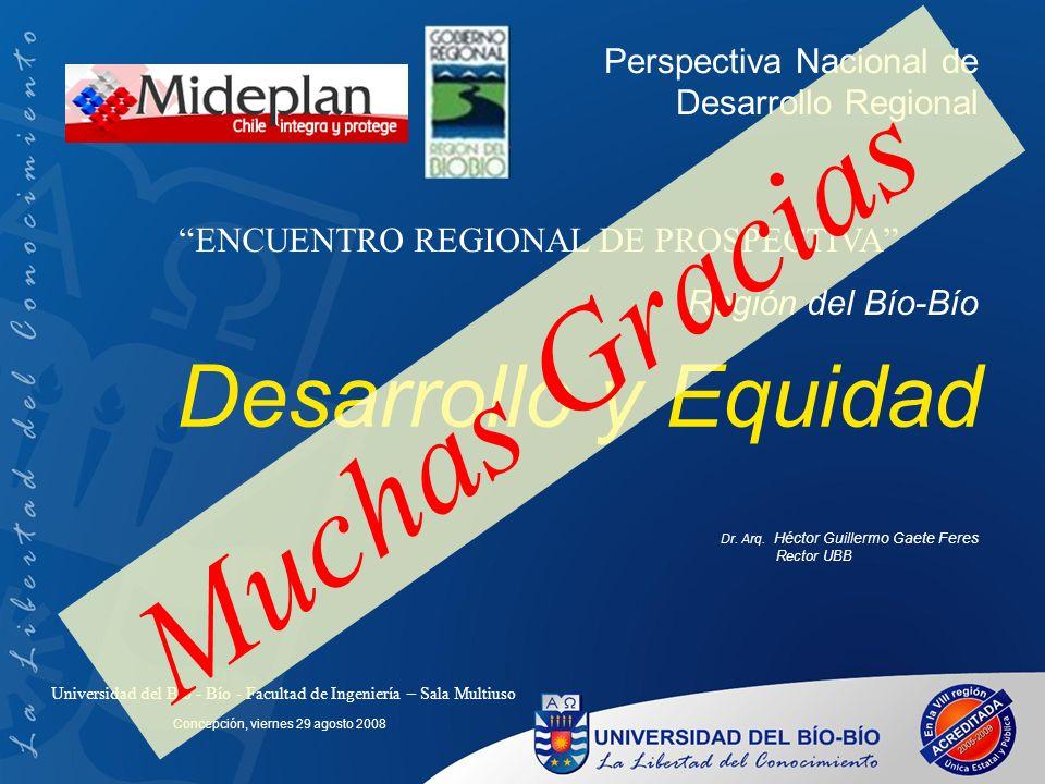 Desarrollo y Equidad Dr. Arq.