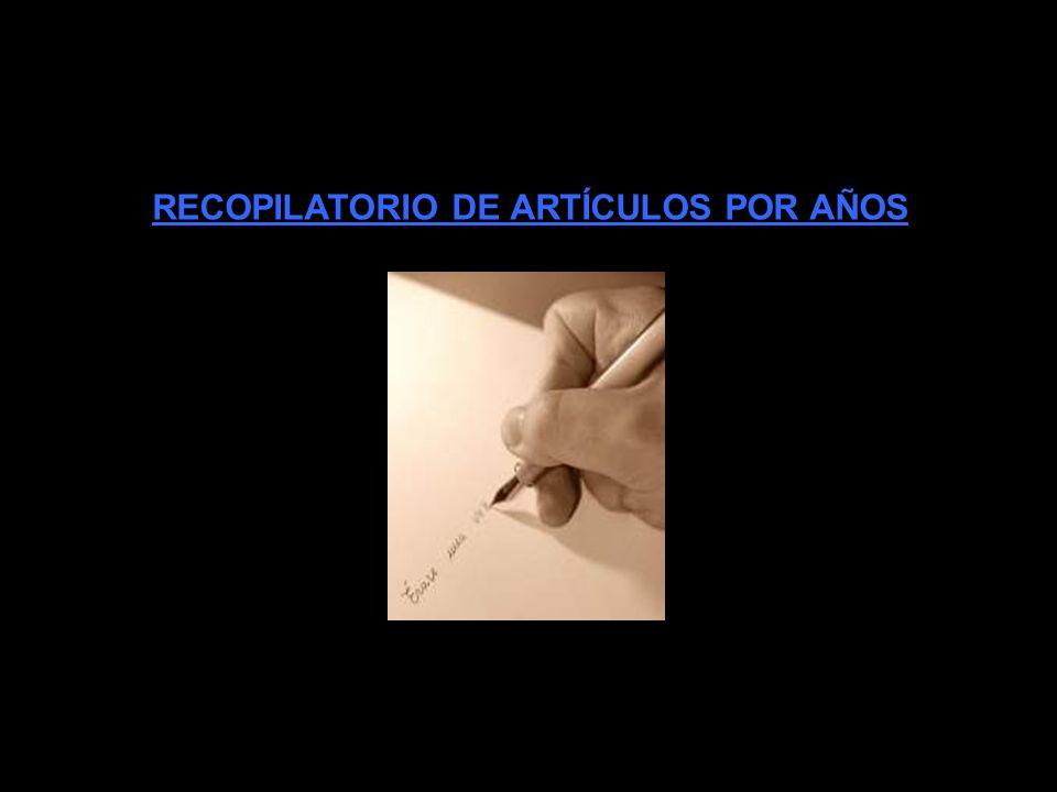 RECOPILATORIO DE PRESENTACIONES