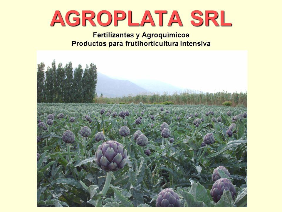 AGROPLATA SRL Fertilizantes y Agroquímicos Productos para frutihorticultura intensiva