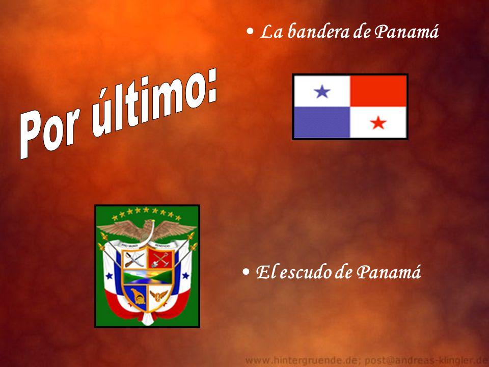 La bandera de Panamá El escudo de Panamá