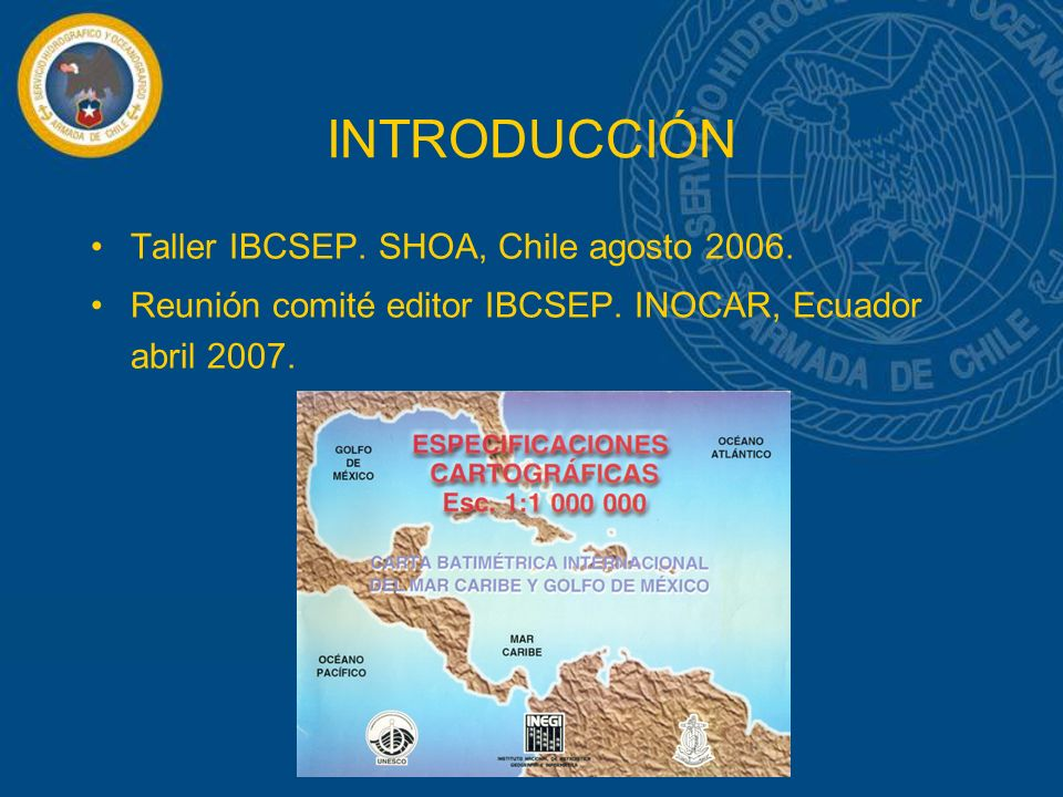 INTRODUCCIÓN Taller IBCSEP.SHOA, Chile agosto 2006.